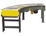 Hytrol Model 190-LRC (V-Belt Driven Curve Minimum Pressure Accumulation Conveyor)