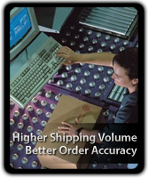 Higher shipping volume & better order accuracy with Hytrol Conveyors.
