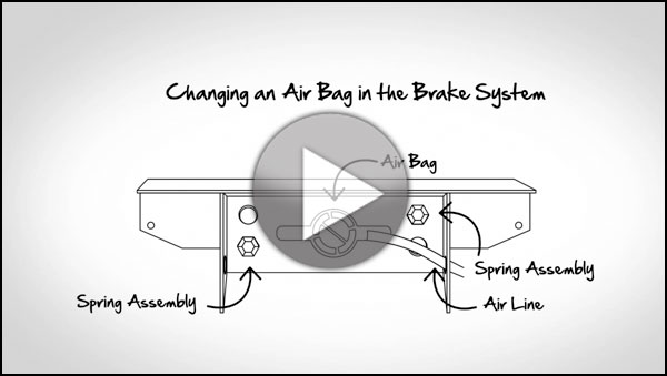 Ask Hytrol: How To Change An Air Bag In The Brake System