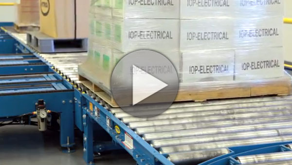 Hytrol Pallet Handling Test System Video